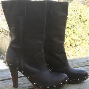 MK clog boots